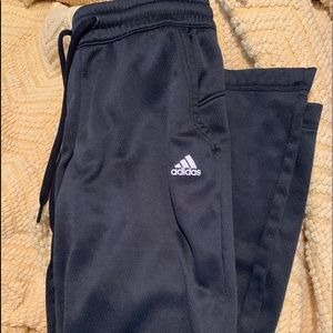 Adidas Climawarm Athletic Pants Size Small Black